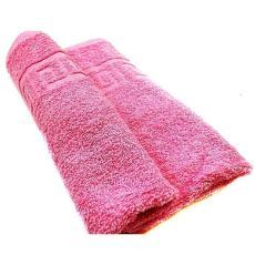 """Полотенце """"Бордюр"""" темно-розовый"""