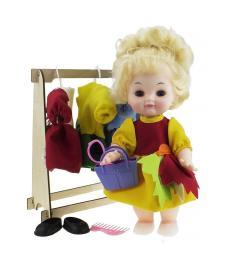 Кукла Алла с гардеробом 4 сезона (Зима, Весна, Лето, Осень)