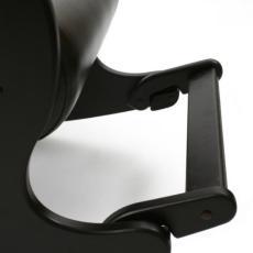 Кресло качалка Модель 44 без декоративной косички черное