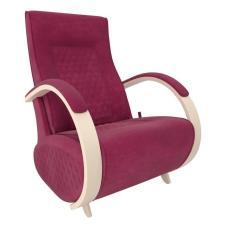 Кресло качалка глайдер Модель G3 бордо