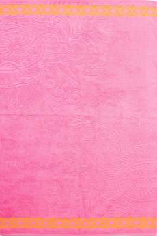 """Полотенце """"Жасмин"""" розовое"""