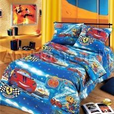 """Постельное бельё бязь """"Ралли"""" 1,5 спальный"""