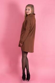 Платье 01013 (коричневый)