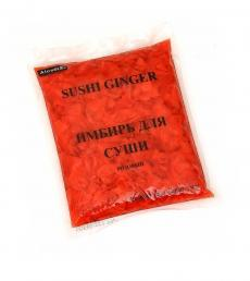Имбирь для суши розовый упаковка 1.4 кг