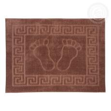 Полотенце на резиновой основе НОЖКИ (темно-коричневый)