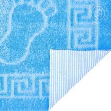 Полотенце на резиновой основе НОЖКИ (ярко-синий)