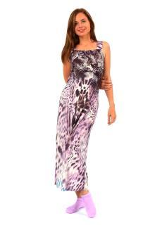 Платье с тигром