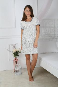 Сорочка женская 103 сердечки