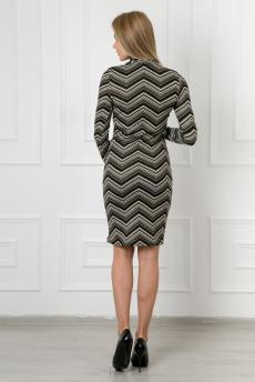Платье 363 Линда полоса