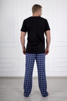 Костюм мужской 684 Мустанг черный брюки