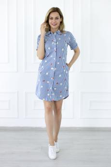 Платье 558А  Лето