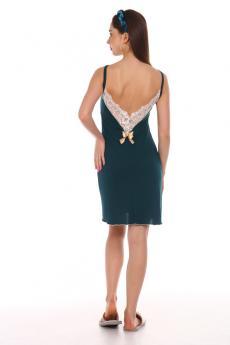 Сорочка женская 1292 Одри (изумруд)