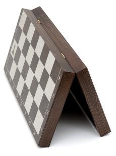 Доска 3 в 1 шахматы, шашки, нарды «Ярославская» венге