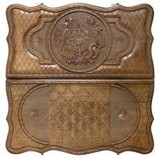 Нарды «Герб Армении» мастер Саркис Петросян