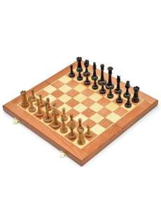 Шахматы «Элеганс махагон» доска панская
