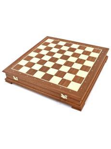 Шахматный ларец «Стаунтон махагон»