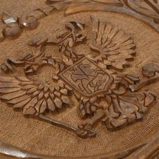 Нарды «Герб РФ и Символы Власти» мастер Артур Мирзоян