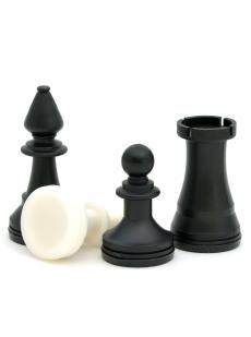 Шахматные фигуры малые «Владимирские» пластиковые
