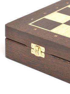 Шахматы «Элеганс» ларец классический венге