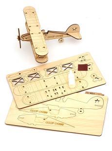 Конструктор «Биплан» 3D самолёт