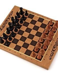 Шахматы + нарды + шашки «Панские» мини 3 в 1
