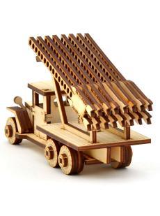 Конструктор «Катюша» 3D автомобиль
