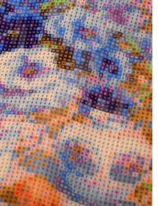 """Алмазная мозаика  """"Натюрморт в синем с персиками"""""""