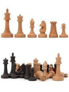 Шахматные фигуры большие «Купеческие» бук