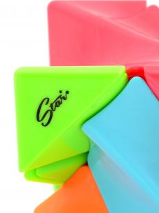 Кубик «Twisty Skewb» QiYi цветной
