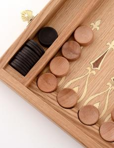 Шахматы + нарды + шашки «Панские» 3 в 1