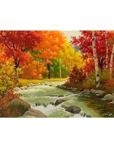 Алмазная мозаика «Карельская осень»