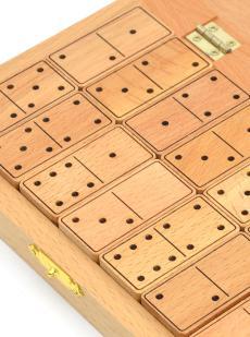Домино деревянное из бука