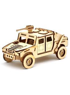Конструктор «Джип Хамвей» 3D автомобиль