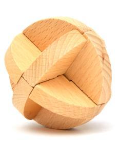 Головоломка «Узловой мяч»