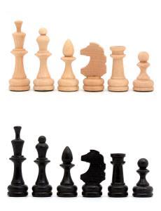 Шахматные фигуры малые «Славянские» бук