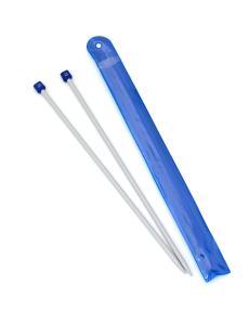Спицы для вязания, диаметр 7 мм, длина 33 см, пластик, 2 шт
