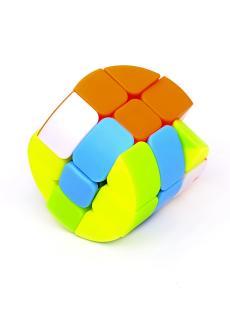Брелок мини цилиндр-рубик «Mini cylindrical 3x3 cube»