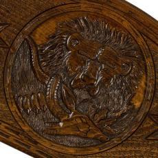 Нарды «Лев с добычей» мастер Артур Мирзоян