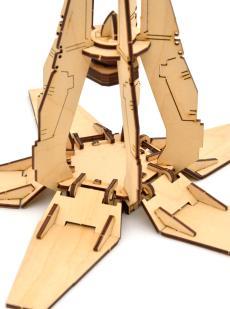 Конструктор десантная капсула «Вархамер» 3D