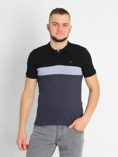 САМ-5833 Рубашка-поло комбинированная