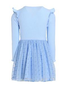 ПЛ-301 Платье Грейс (рибана + сетка)