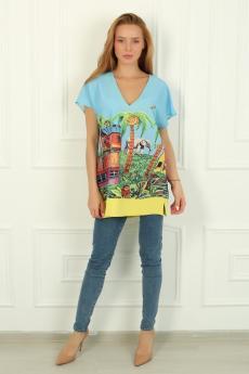 Блуза Тропикана