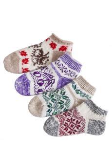 Носки Женские зимние укороченные
