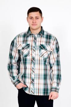 Рубашка шотландка Д/Р