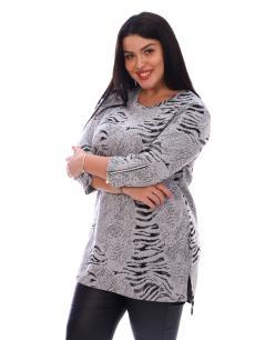 Туника женская Наргиз серый