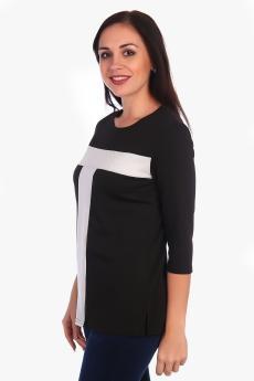 Блузка Мелисса черный