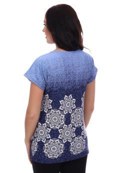 Блузка Жанна синий