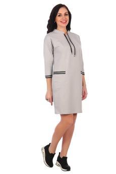 Платье Роксана серый
