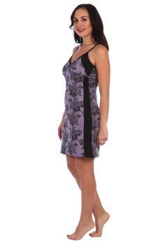 Ночная сорочка Лейла фиолетовый