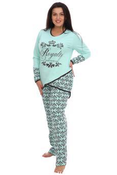 Пижама Алина ментол